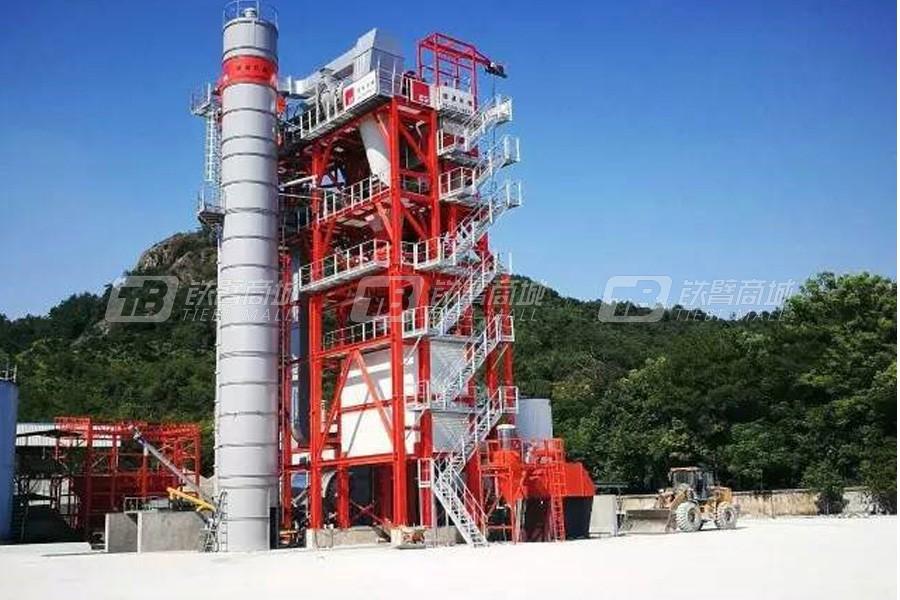德基机械DGR3000整体式再生沥青搅拌设备