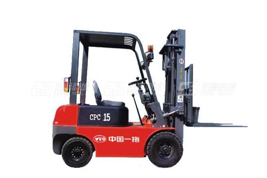 东方红CPC15内燃平衡重式叉车
