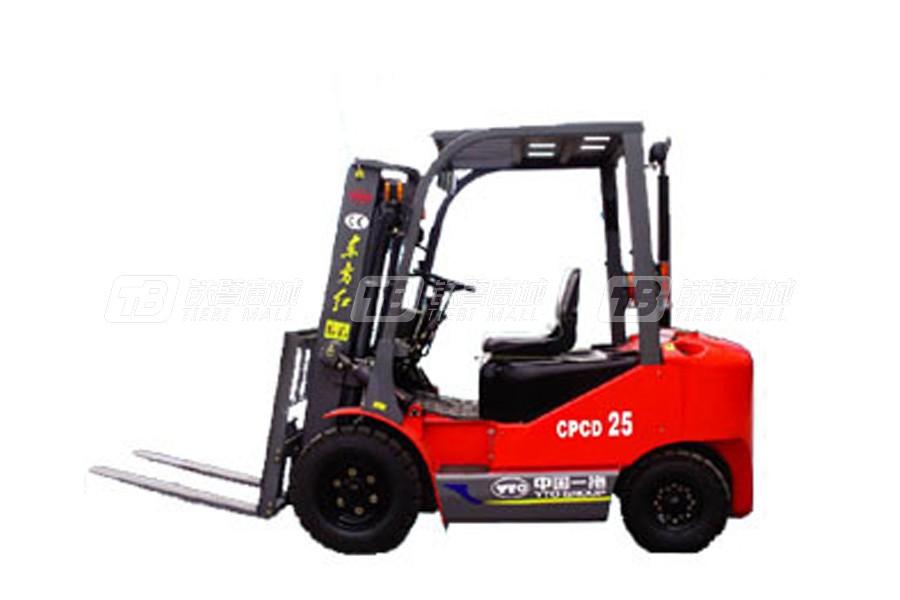 东方红CPCD25内燃平衡重式叉车