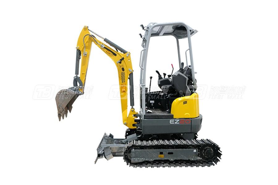 威克诺森EZ20履带式无尾挖掘机