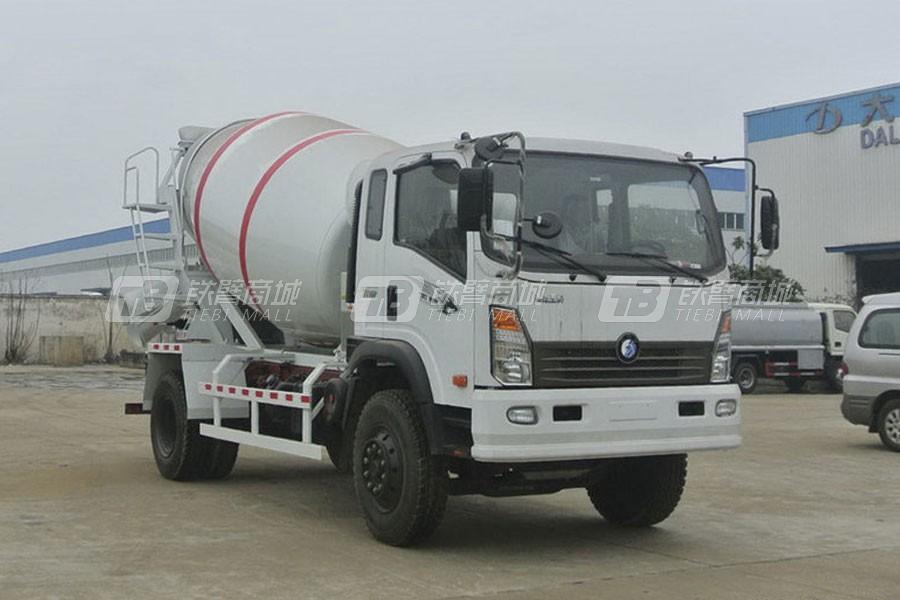 重汽王牌CDW3160HA3R5混凝土搅拌运输车