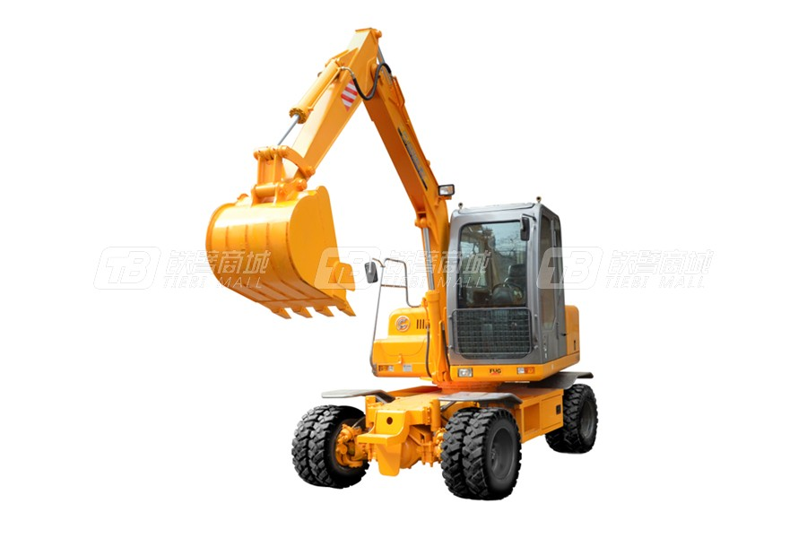 福工FUG750轮式挖掘机