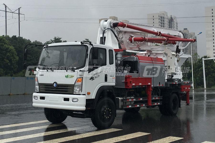 重汽王牌CDW5330THBA1S5混凝土泵车