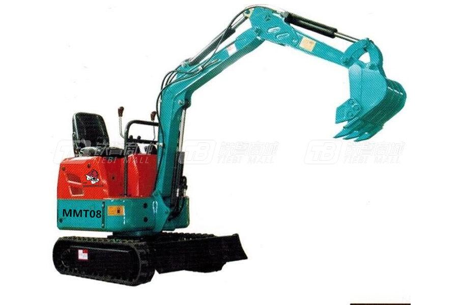 芒特MMT08履带挖掘机