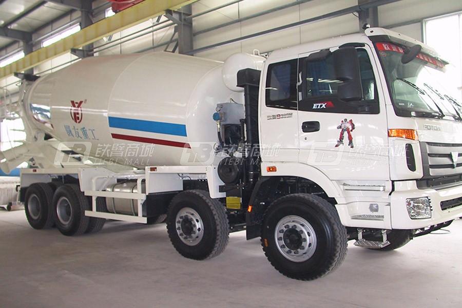 圆友重工ZZ5317GJBN3667C1混凝土搅拌运输车
