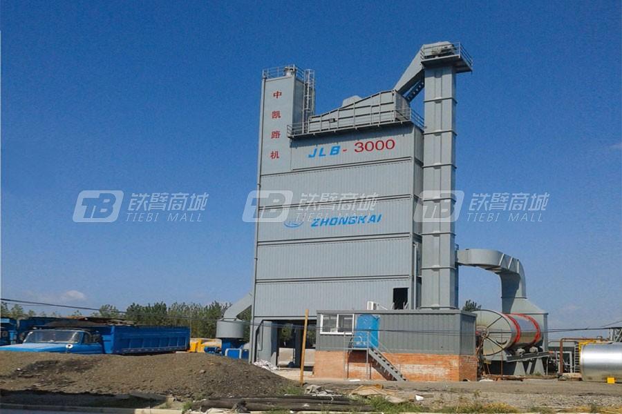 中凯路机JLB-3000C沥青混合料搅拌设备集装箱式