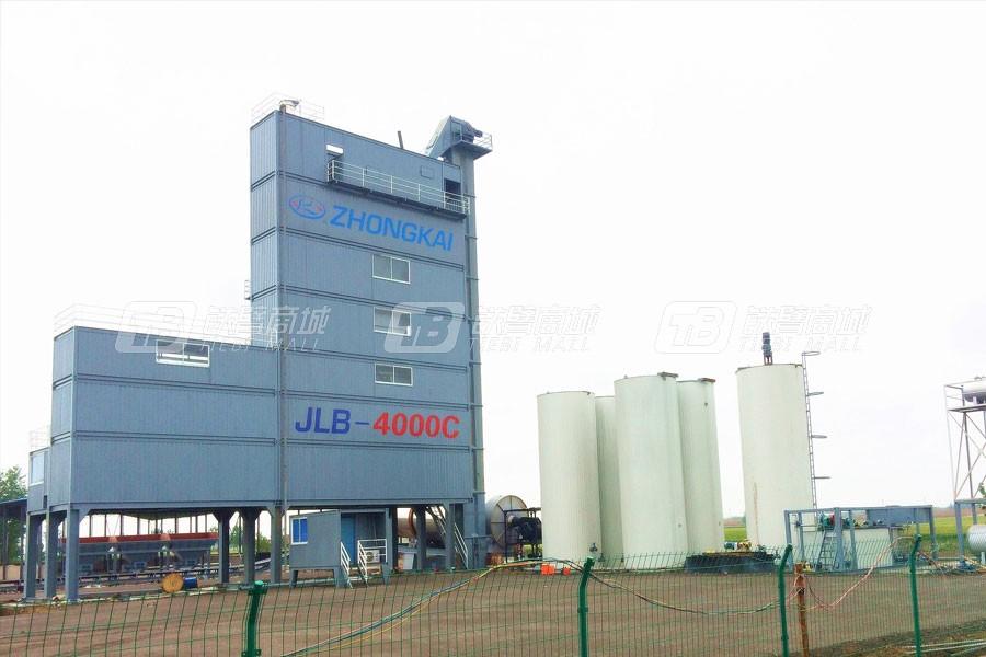 中凯路机JLB-4000C沥青混合料搅拌设备集装箱式