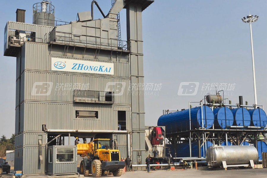 中凯路机JLB-5000C沥青混合料搅拌设备集装箱式