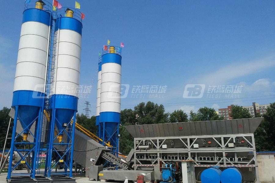 南方路机YHZS150环保移动式混凝土搅拌站