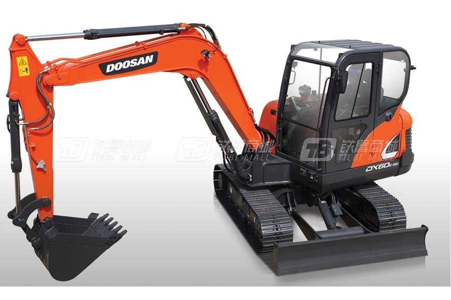 斗山DX60E-9C履带挖掘机