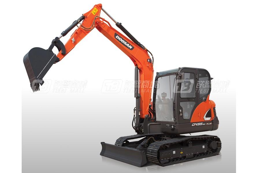 斗山DX65-9C PLUS履带挖掘机