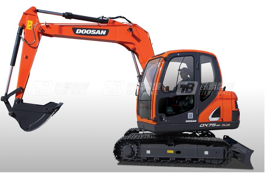 斗山DX75-9C PLUS履带挖掘机