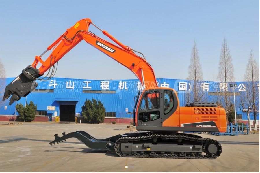 斗山DX225CD-9C汽车拆解机