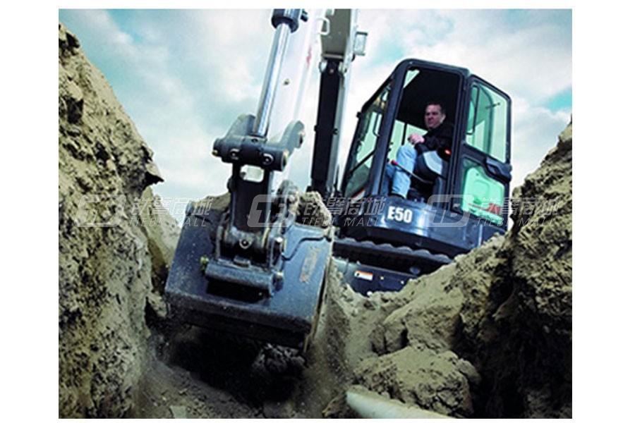 山猫E50迷你挖掘机