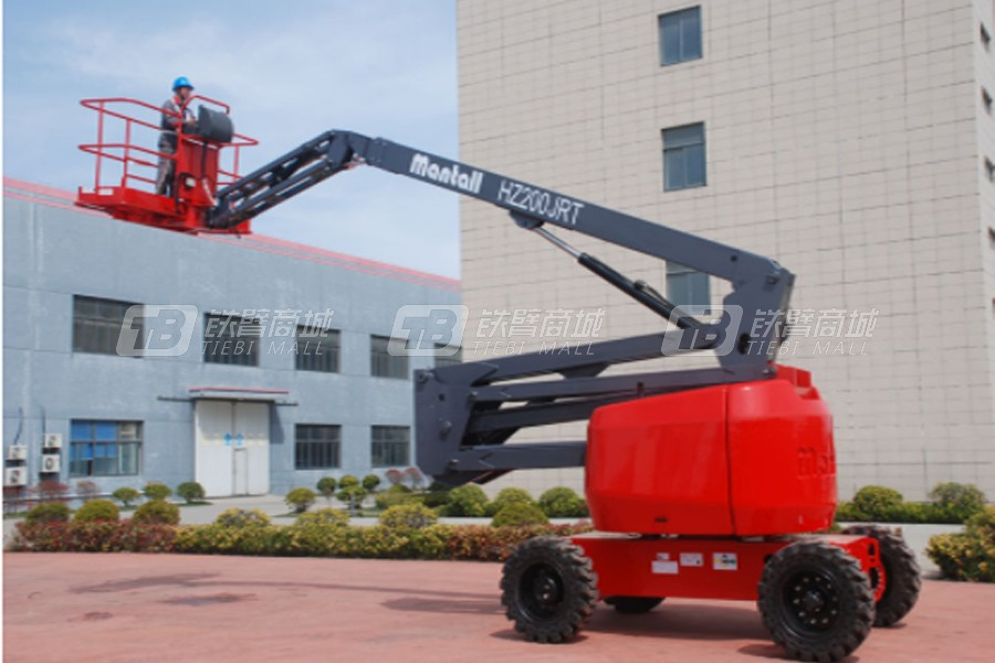 美通重工HZ200JRT曲臂式高空作业平台