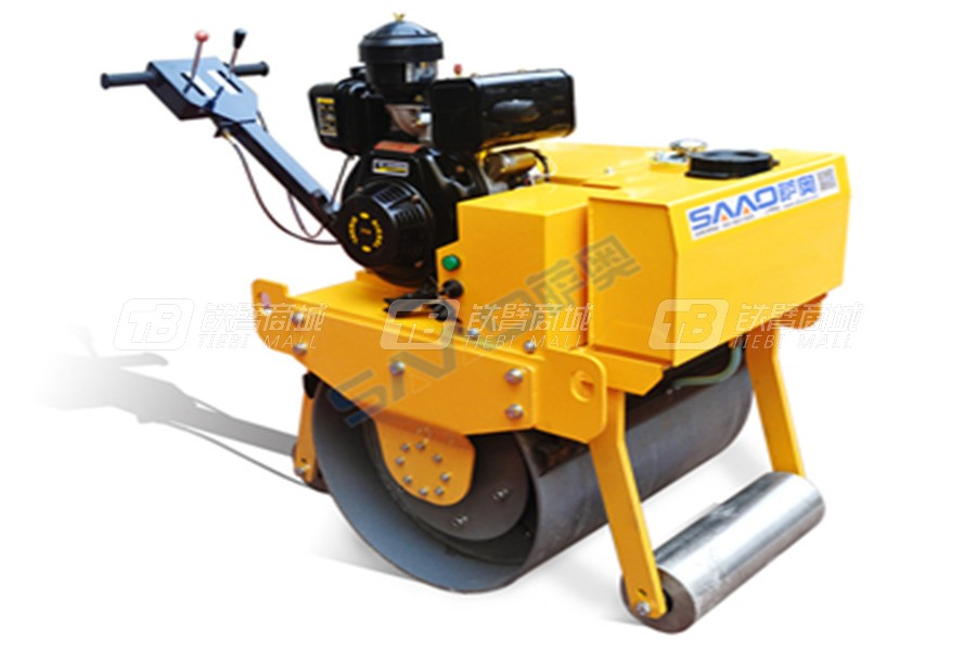 萨奥机械SYL-700C手扶压路机