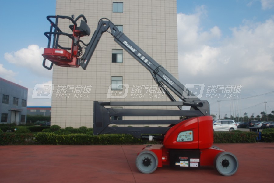 美通重工HZ160J曲臂式高空作业平台