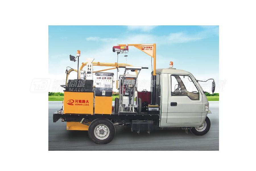 新公LD-C300D车载式路面开槽灌缝机