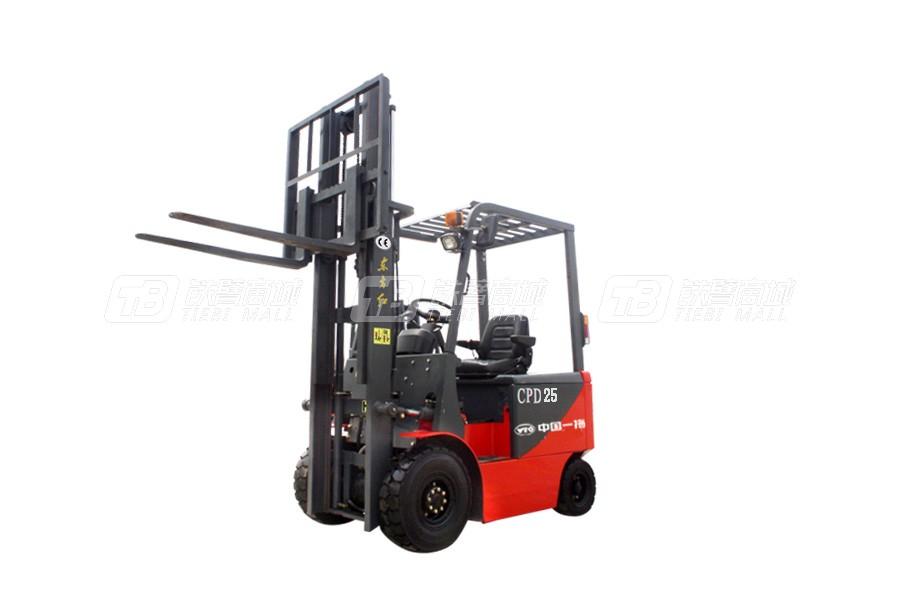 东方红CPD25电动平衡重式叉车