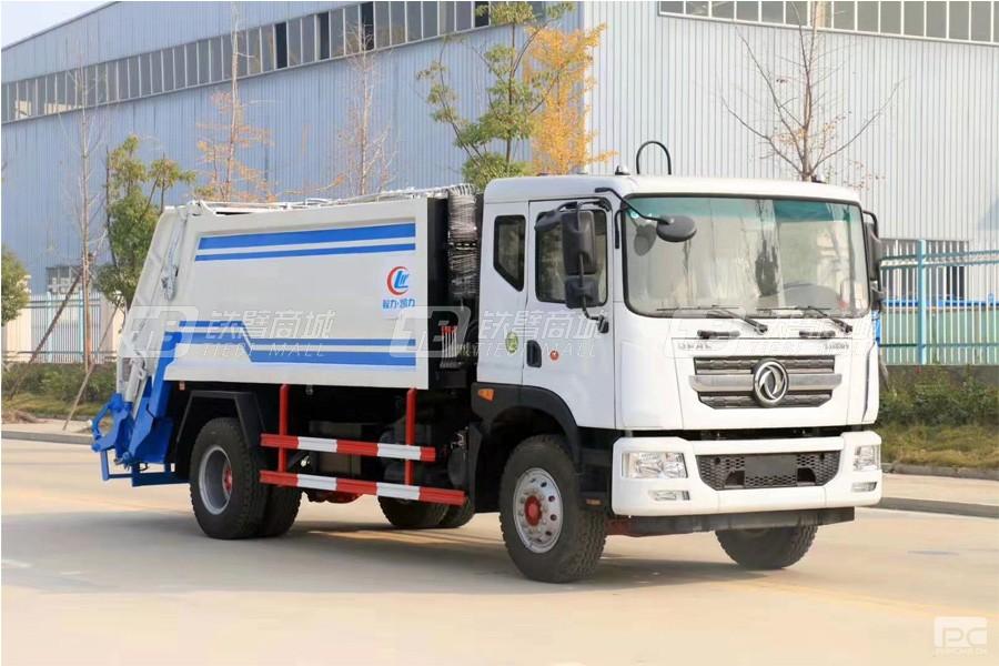 程力专汽CLW5181ZYS6【国六】东风D9压缩式垃圾车