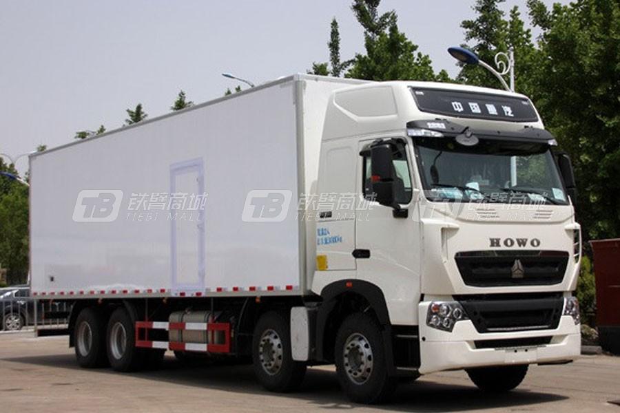 中国重汽豪沃T7H8×4 厢式车 (12版)