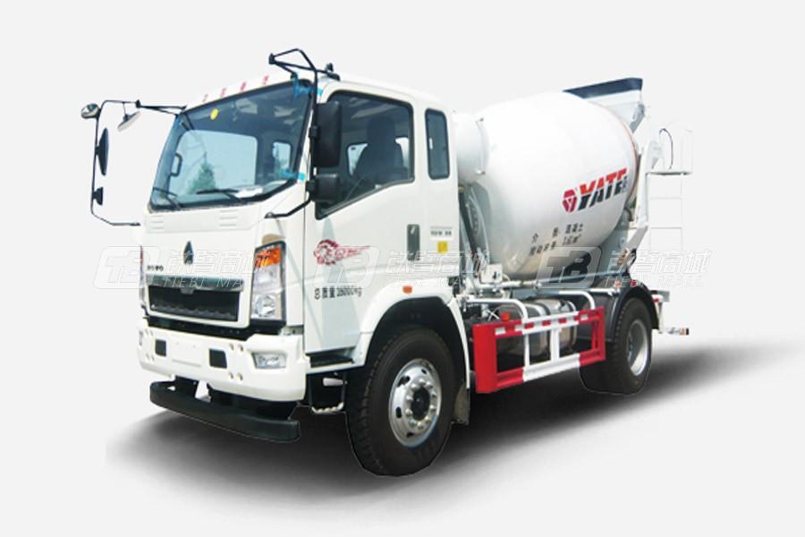 亚特重工TZ5167GJBZC4E-285混凝土搅拌运输车