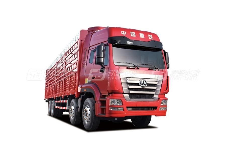 中国重汽豪瀚J7B8×4 仓栅车 (11版)
