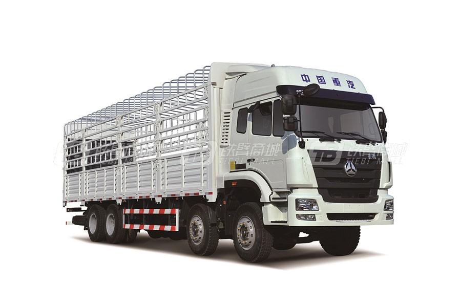 中国重汽豪瀚J5G8×4 仓栅车 (5版)