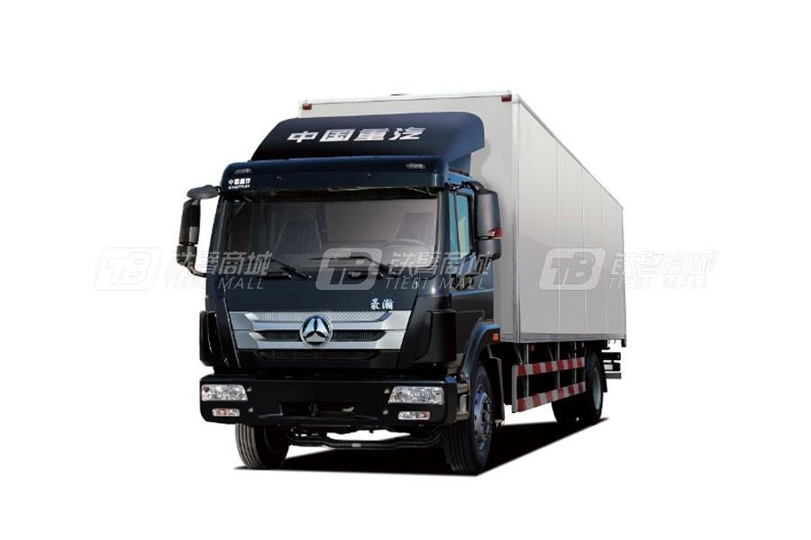 中国重汽豪瀚J5G4×2 厢式车 (标载版)