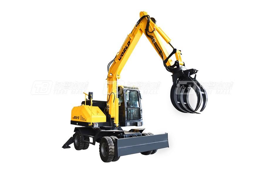 沃得重工W285W-9A轮式挖掘机