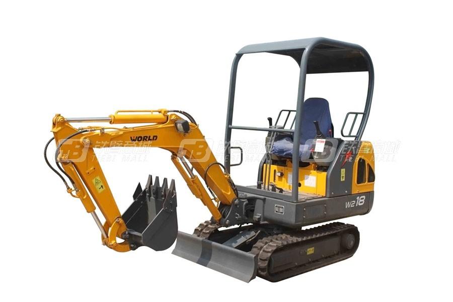 沃得重工W218挖掘机