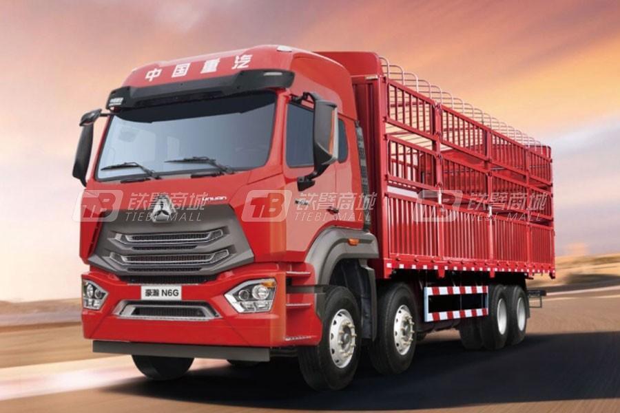 中国重汽豪瀚N6G8×4载货车