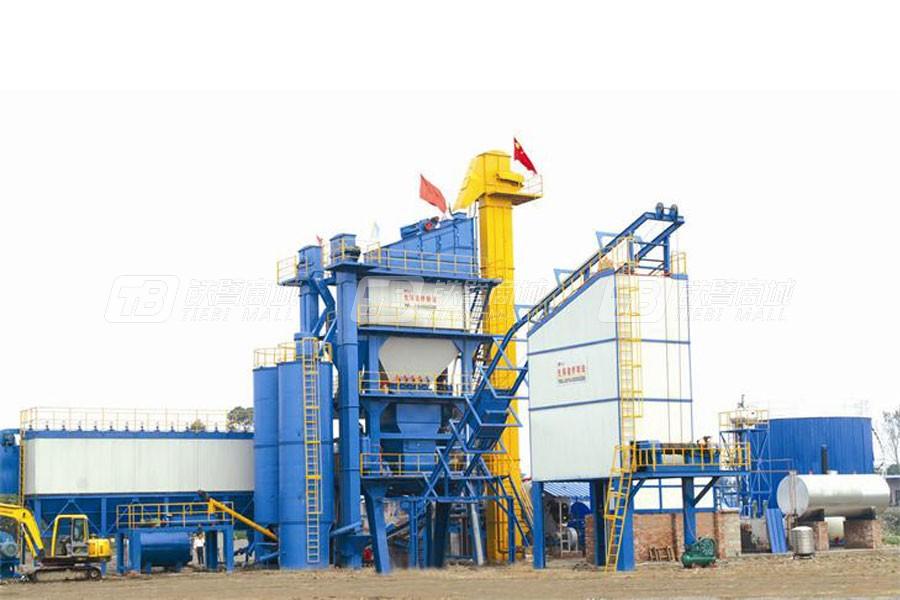 华庄道桥LB-2000沥青混合料搅拌成套设备