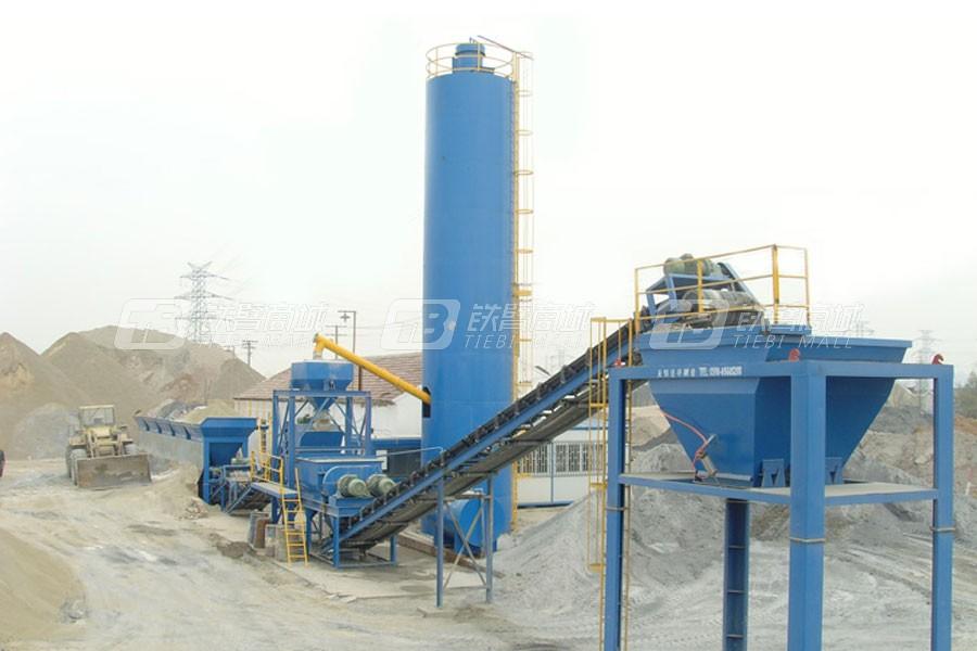 华庄道桥WDT-400稳定土厂拌设备