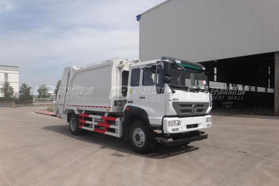中国重汽斯太尔M5G4×2 压缩式垃圾车