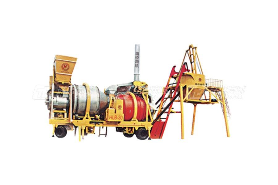 南侨HLB-15移动间歇式双滚筒沥青混凝土拌和设备