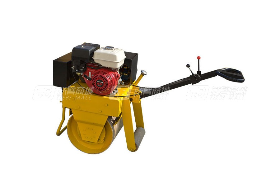路通筑机LT-620(汽油机)手扶压路机