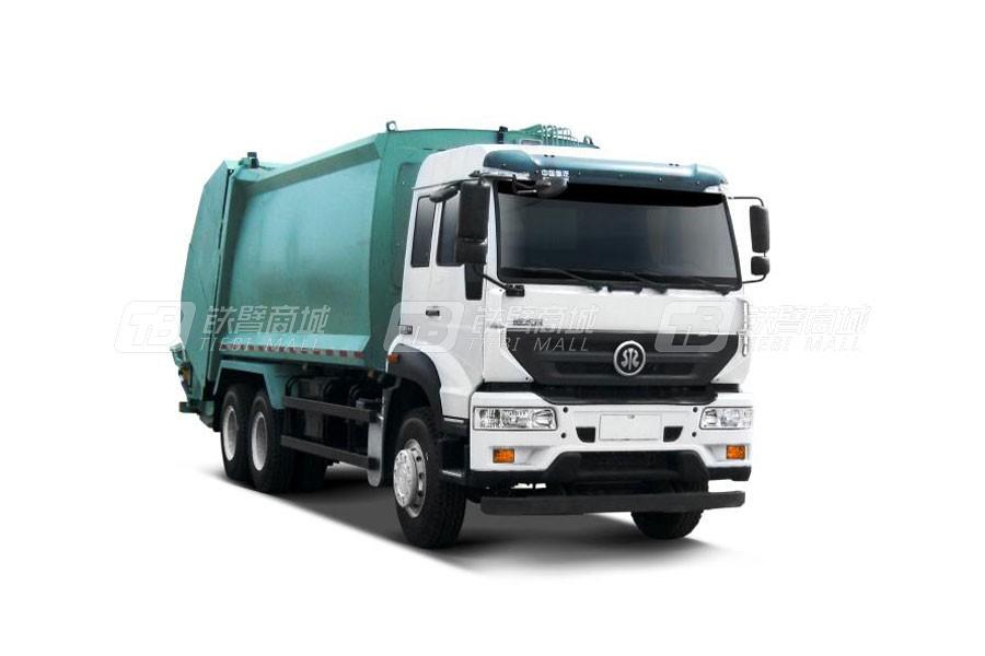 中国重汽斯太尔M5G6×4 车厢可卸式垃圾车