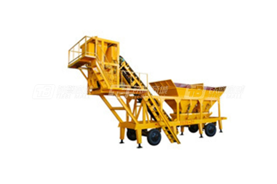 南侨HZSY-25移动式水泥混泥土搅拌站