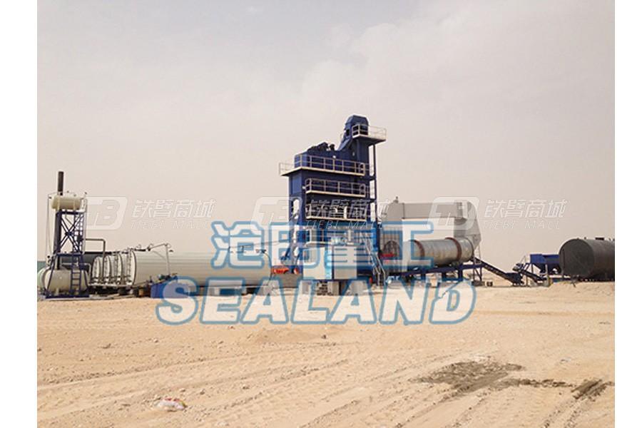 沧田重工LB2500沥青搅拌设备