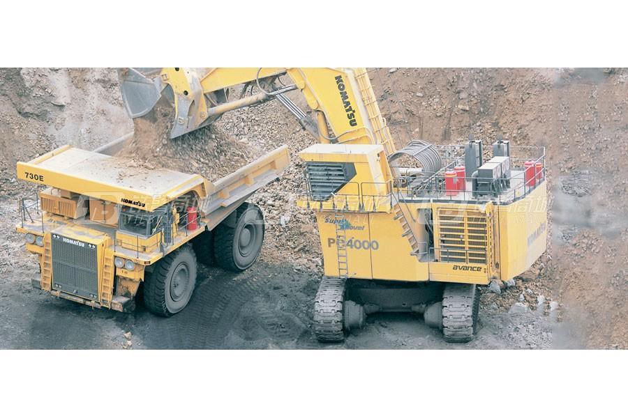 小松PC4000-6液压挖掘机