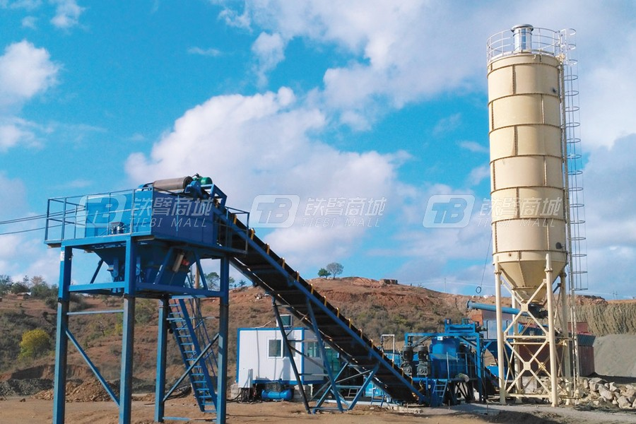 山推建友WCQ300稳定土厂拌设备