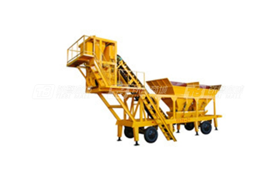 南侨HZSY - 25移动式水泥混泥土搅拌站