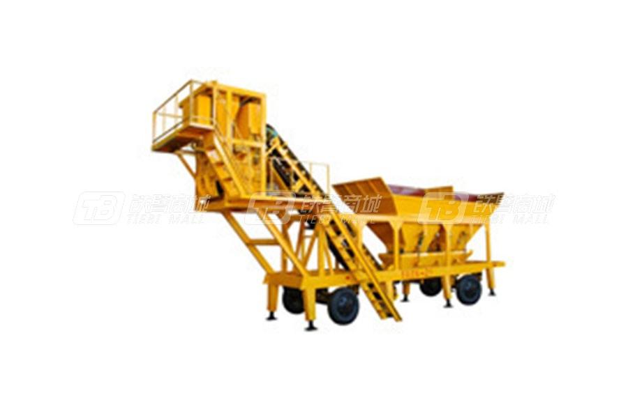 南侨HZS-100移动式水泥混泥土搅拌站