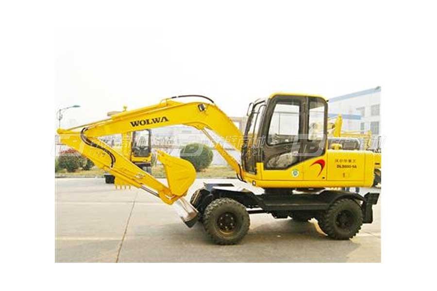 沃尔华DLS880-9A轮式液压挖掘机