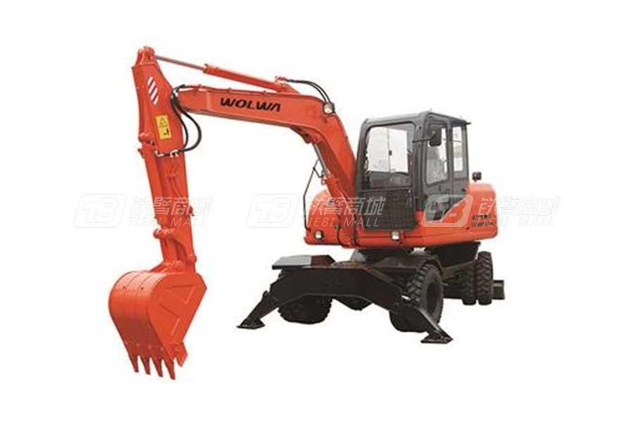 沃尔华DLS890-9A轮式液压挖掘机