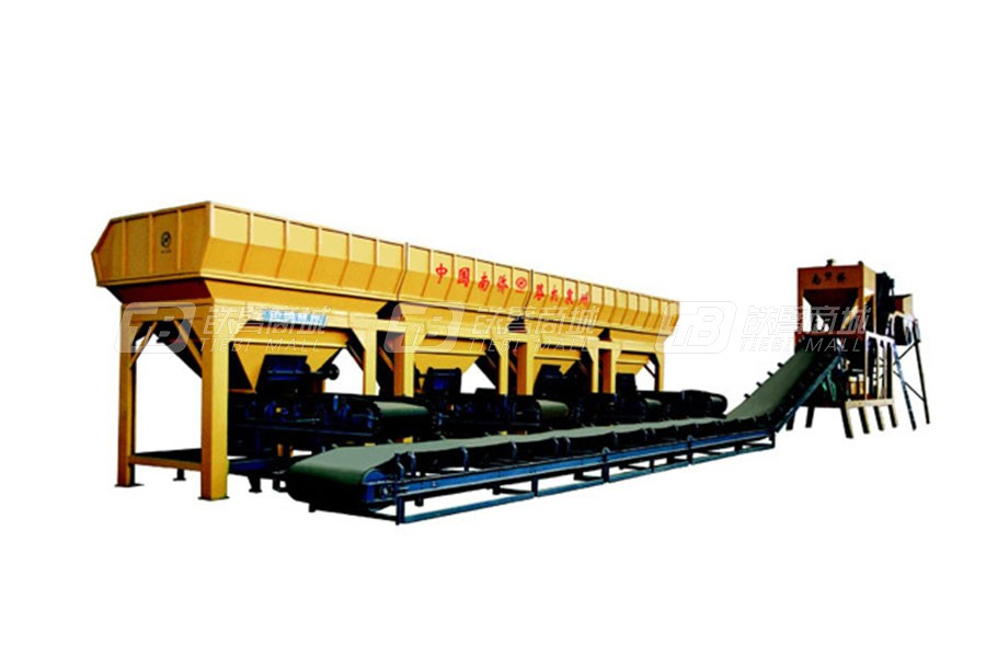 南侨MWCB-500模块式稳定土厂拌设备