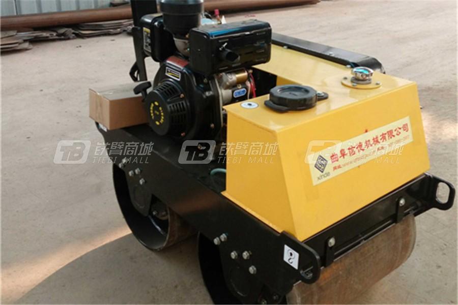 信德机械XD-600手扶双轮压路机