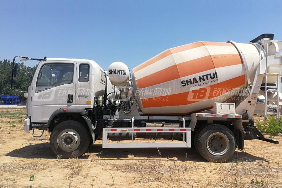 山推建友SDX5164GJBZ32混凝土搅拌运输车