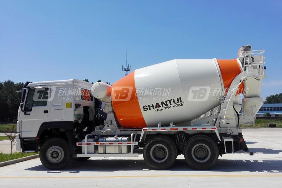 山推建友SDX5259GJBE1混凝土搅拌运输车